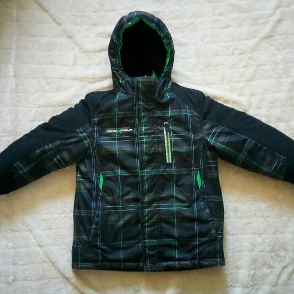 4b51b69a2 Boys zeroXposur 2 in 1 puffer coat